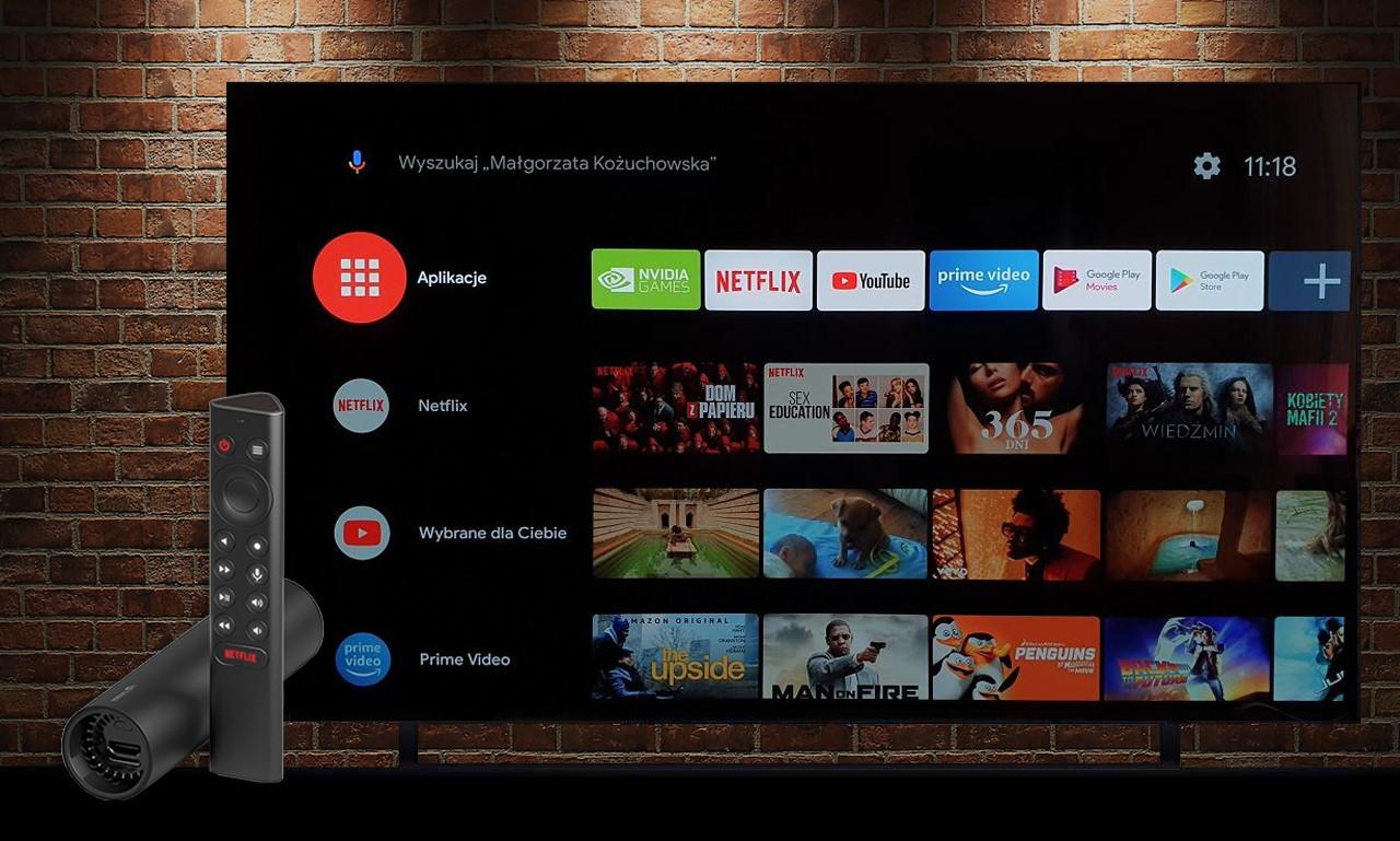 NVIDIA SHIELD TV 2019   TEST   Zamień tanio swój TV w szybki komputer do grania, wysokiej jakości skaler obrazu oraz Android TV