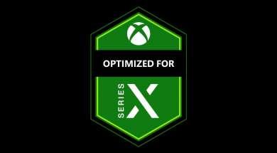 Xbox Series X logo optymalizacji gier