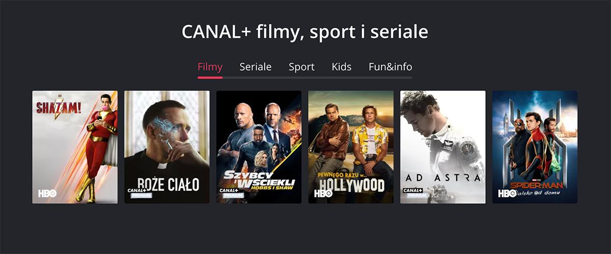 CANAL+: rusza platforma VOD giganta, pierwszy miesiąc za darmo! Mamy wszystkie szczegóły