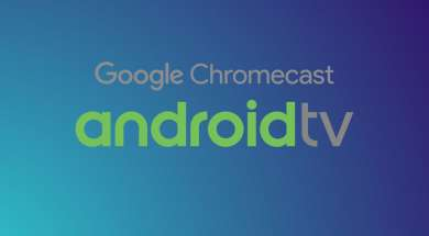 Google Chromecast Android TV logo