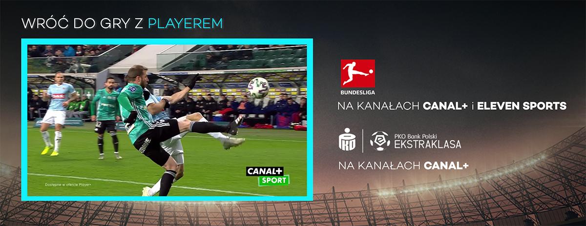 Polska Ekstraklasa wraca na boiska! Wszystkie mecze po wznowieniu obejrzymy w Player