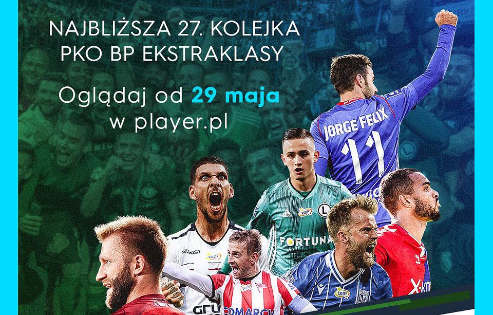 Polska Ekstraklasa wraca jutro na boiska! Wszystkie mecze po wznowieniu obejrzymy w Player