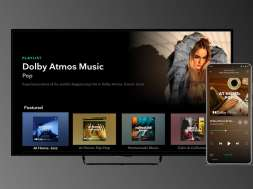 Tidal Dolby Atmos telewizory Philips Sony Apple TV