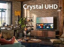 Samsung Crystal UHD telewizory 2020