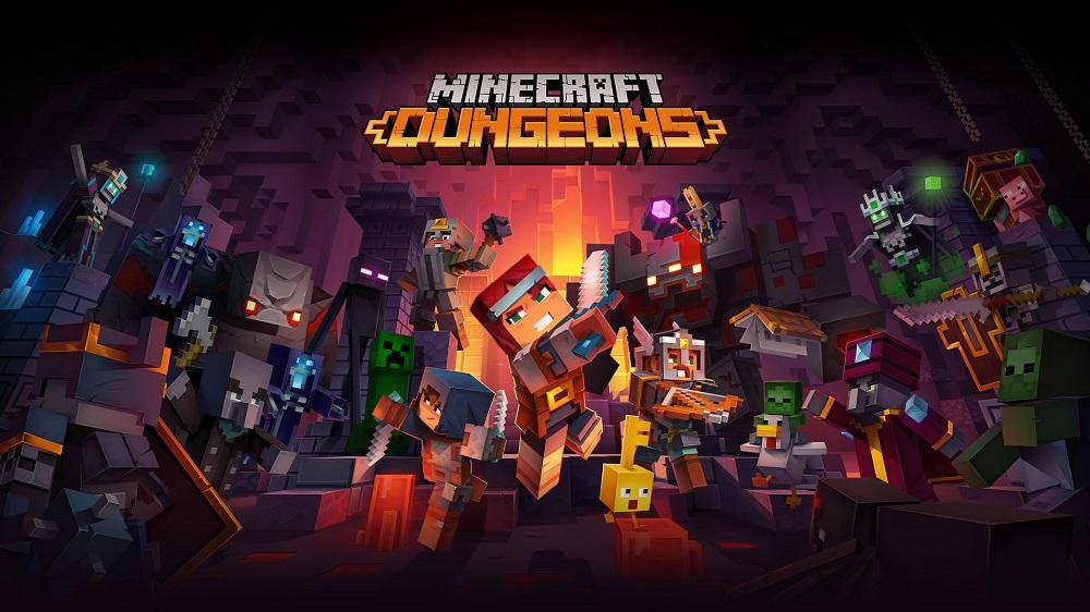 Minecraft Dungeons | RECENZJA | To nie Minecraft jakiego znacie. To Diablo w świecie klocków!