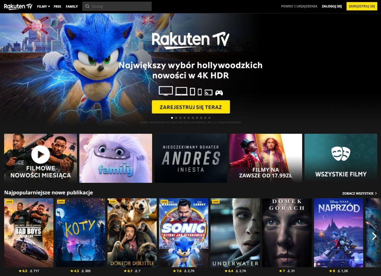 Rakuten TV www
