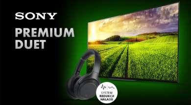 Sony promocja telewizory słuchawki gratis