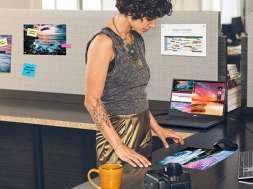 test monitor Dell UP2720Q do color gradingu i grafiki