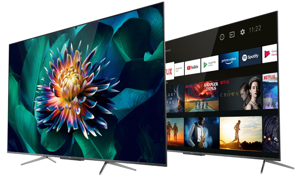 telewizorów TCL 4K QLED