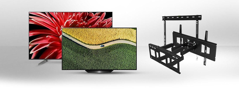 Dobra okazja do zakupu telewizora z bardzo szerokiej listy – uchwyt Götze & Jensen do tv 30% taniej!
