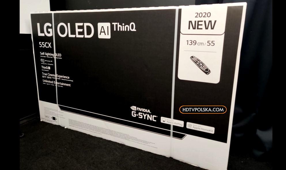 LG OLED CX 55 cali test zapowiedź