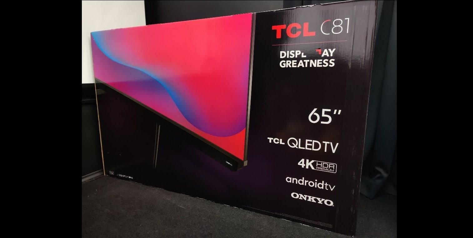 Test TCL C81 zapowiedź testu telewizor 120Hz