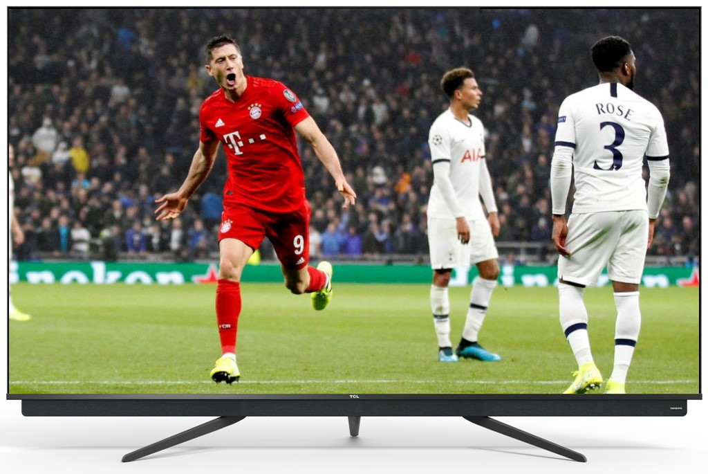 Test telewizor TCL C815 QLED 65 cali sport