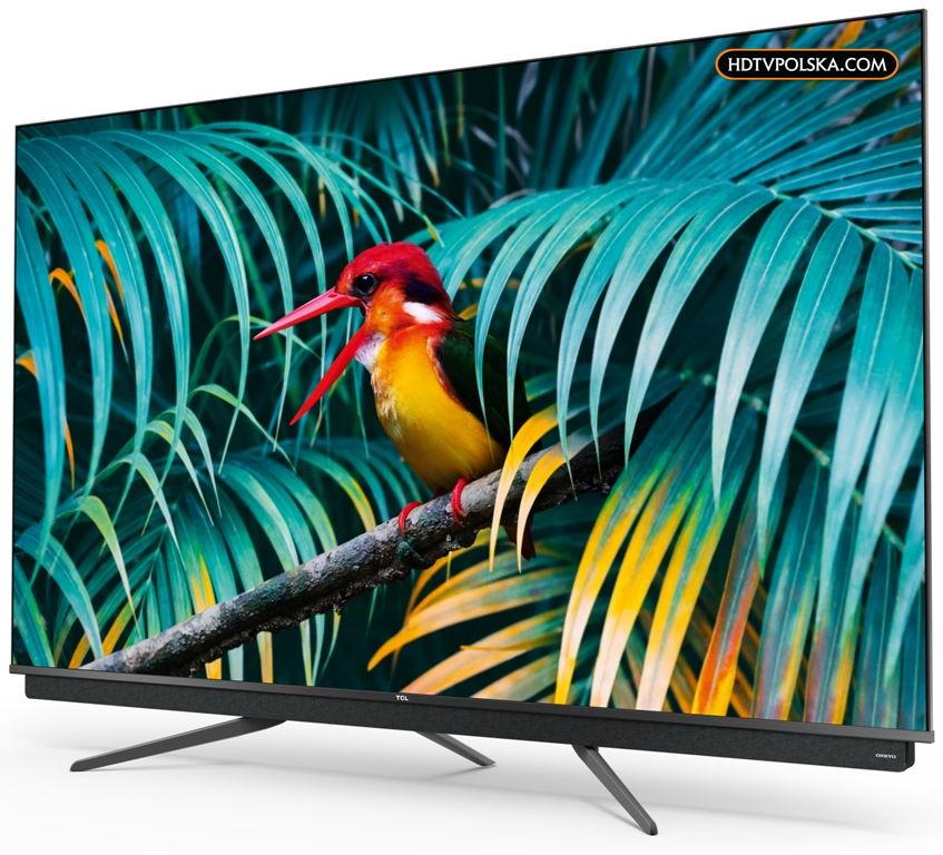 Test telewizor TCL C815 QLED 65 cali wygląd 2