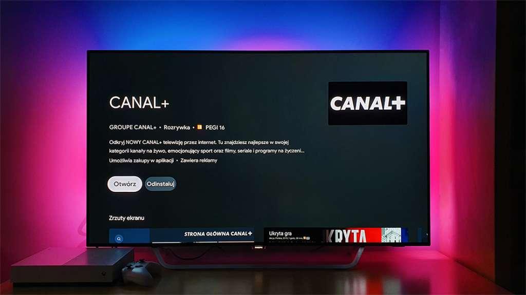 Testujemy aplikację Canal+ na telewizory z Android TV! Jak się sprawdza telewizja internetowa bez umowy?