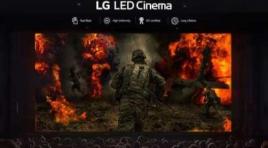 LG ekran kinowy LED Tajwan