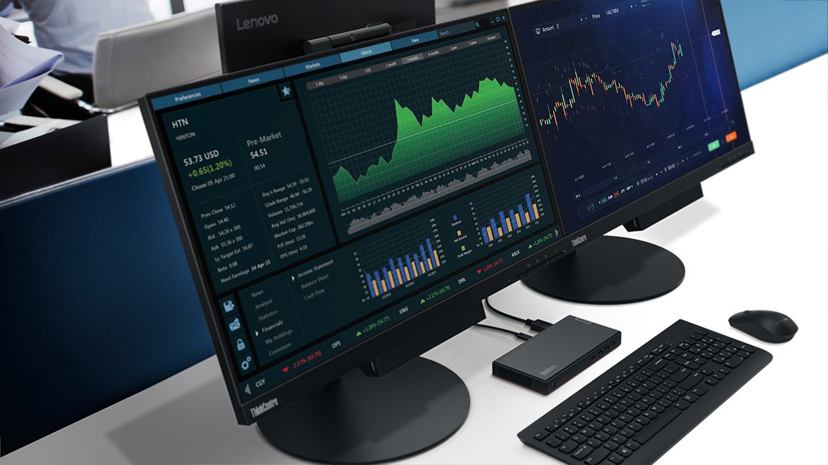 Lenovo ThinkCentre: na rynek trafiają jedne z najmniejszych na świecie komputerów stacjonarnych z procesorami AMD