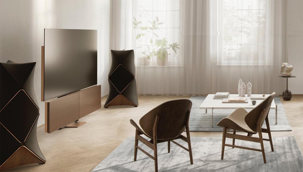 """Bang & Olufsen pokazało stylowy Beovision Harmony 88"""" – swój pierwszy telewizor OLED 8K klasy premium"""