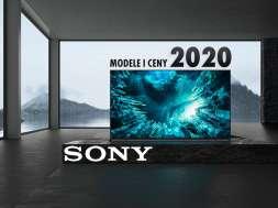 Sony 2020 telewizory OLED LCD 4K 8K
