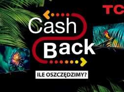 TCL CashBack akcja telewizory zniżki