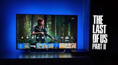 The Last Of Us Part II PS4 Pro Philips OLED Ambilight