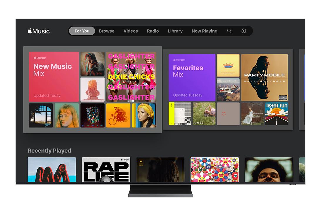 Samsung: w Apple Music na telewizorach Smart TV od teraz wyświetlają się teksty piosenek. Jak to działa?