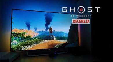 Ghost of Tsushima PlayStation 4 Pro recenzja Philips OLED Ambilight