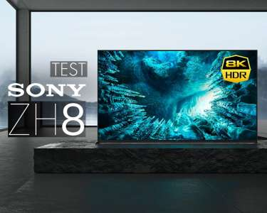 Fachowy test Sony ZH8 8K HDMI 2.1