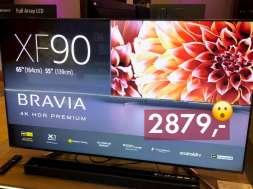 Sony Centre Klif promocje telewizory XF90