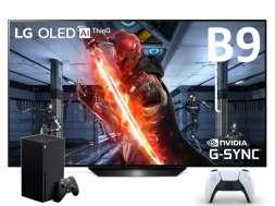 LG OLED B9 promocja do Xbox Series X PlayStaton 5