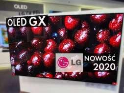 LG OLED GX test wykonania telewizora