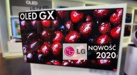 LG OLED GX – Testujemy jak zbudowany jest pierwszy na świecie tak smukły OLED z elektroniką w telewizorze