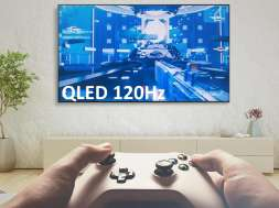 Promocja SAMSUNG QLED QE55Q64R 120hz dla gracza media expert promocja 3