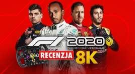 F1 2020 | RECENZJA | Czy tak będą wyglądały wyścigi na PS5 i Xbox Series X? Gramy na Samsung QLED 8K z repliką kierownicy Ferrari F1!