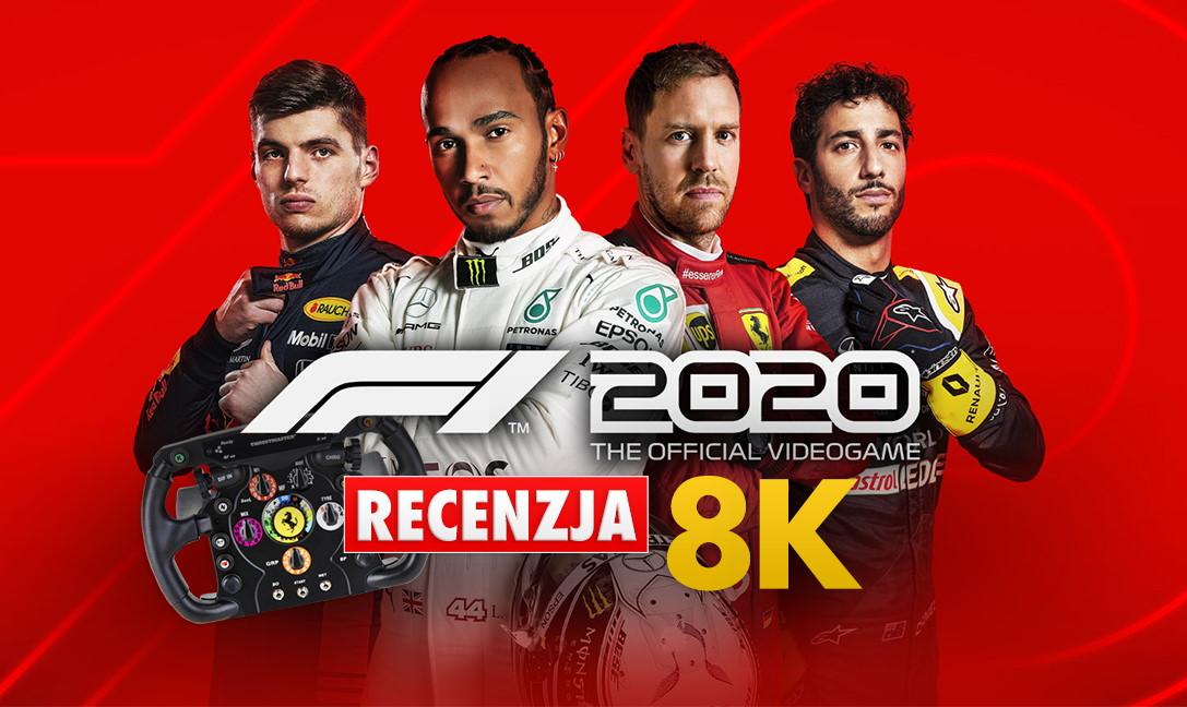 F1 2020   RECENZJA   Czy tak będą wyglądały wyścigi na PS5 i Xbox Series X? Gramy na Samsung QLED 8K z repliką kierownicy Ferrari F1!
