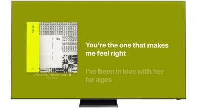 telewizory Samsung Smart TV Apple Music aplikacja