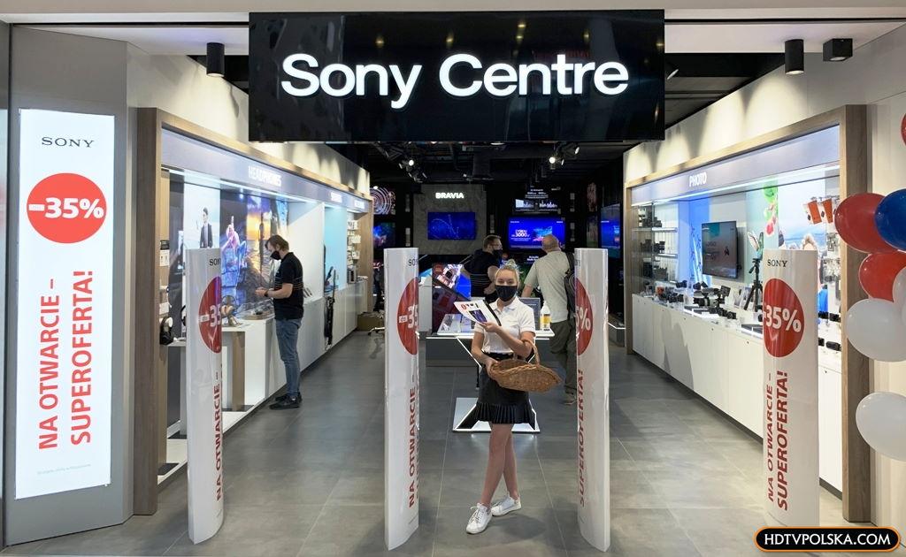 Sony Centre Klif promocja otwarcie 14