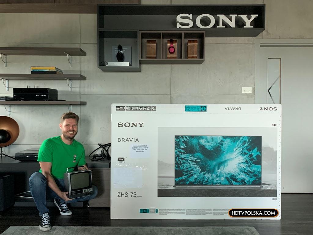 Sony ZH8 test