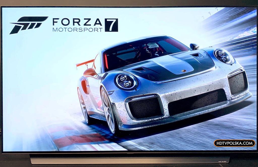Telewizor do konsoli LG OLED CX HDMI 2.1 Forza