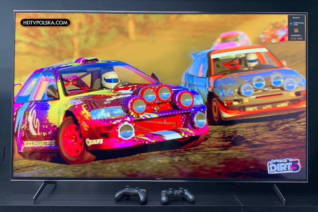 Telewizor do konsoli PlayStation 5 Xbox Series X HDMI 2.1 Dirt 5