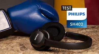 Test PHILIPS SH402 Bluetooth niedrogie słuchawki nauszne sportowe z funkcją chłodzenia