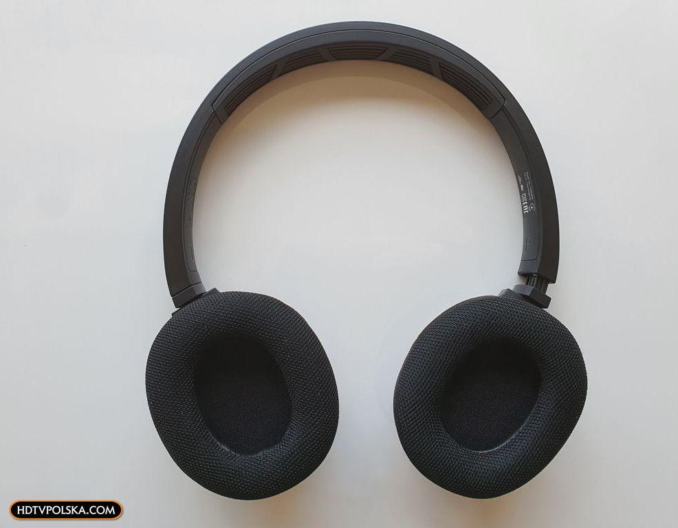 Test PHILIPS SH402 Bluetooth niedrogie słuchawki nauszne sportowe z funkcją chłodzenia 6