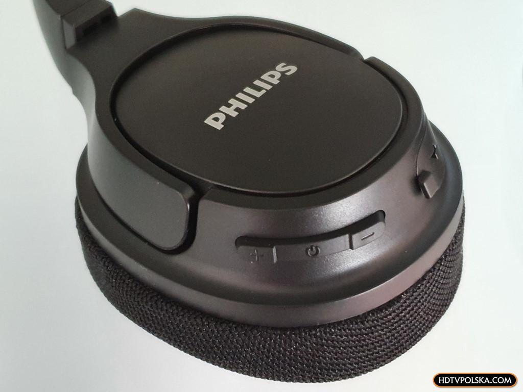 Test PHILIPS SH402 Bluetooth niedrogie słuchawki nauszne sportowe z funkcją chłodzenia 9