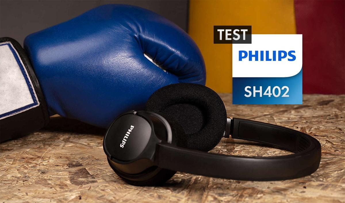 Niedrogie słuchawki sportowe z funkcją chłodzenia? | TEST | PHILIPS SH402 ActionFit Bluetooth