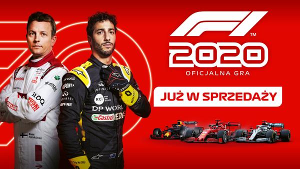 Dziś premiera F1 2020 na wszystkich platformach! Zanim zagracie, mamy dla Was recenzję i materiał wideo