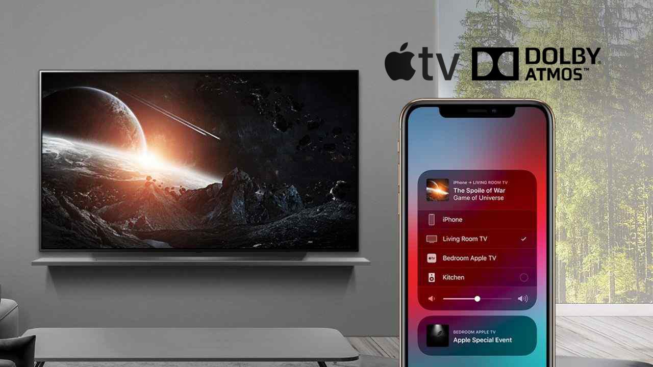 Telewizory LG: aplikacja Apple TV ze wsparciem dla Dolby Atmos! Technologię obsłuży też z poziomu telefonu AirPlay 2