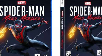 PlayStation 5 pudełko opakowanie gra Spider-Man Miles Morales Sony