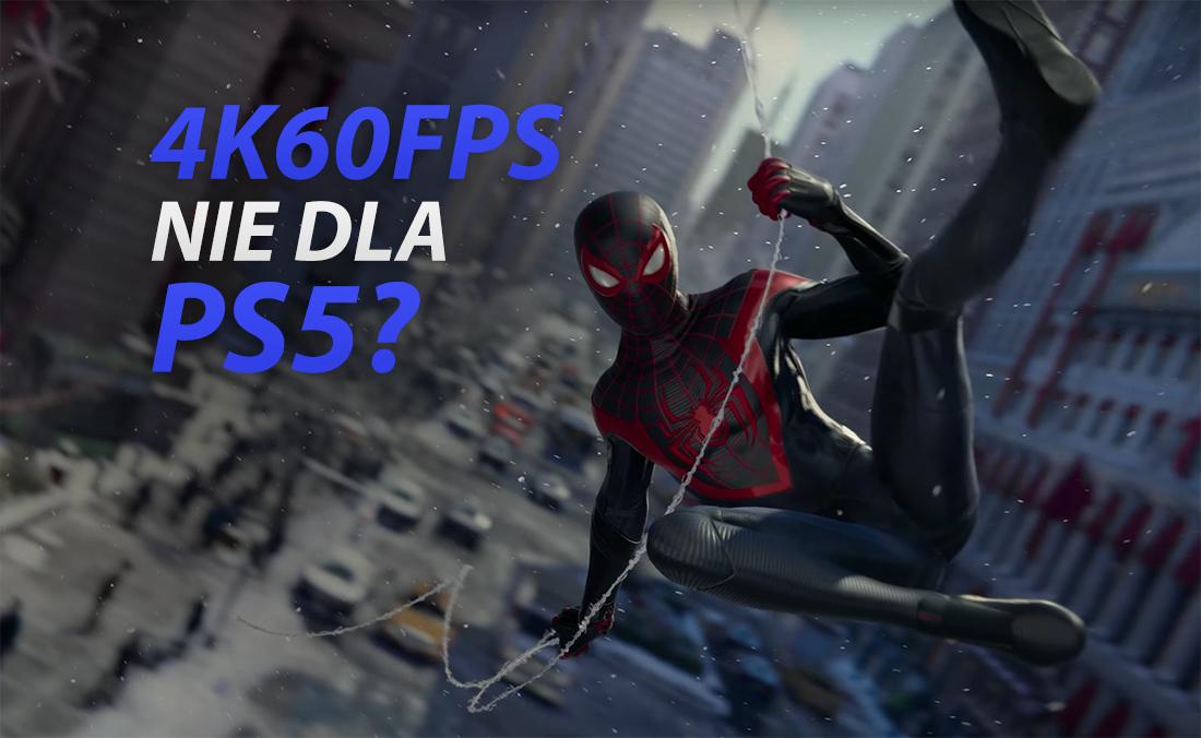 PlayStation 5: 4K60fps to tylko marketing? Zdaniem Digital Foundry twórcy gier celują w 30fps