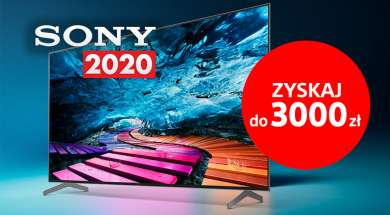 Sony cashback RTV Euro AGD 2020 telewizory