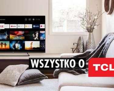 TCL telewizory QLED 4K
